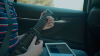 Jamstik7 In Car, Travel Guitar