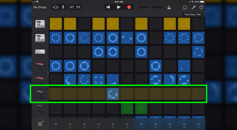 How to use GarageBand's Live Loops on iOS with the Jamstik
