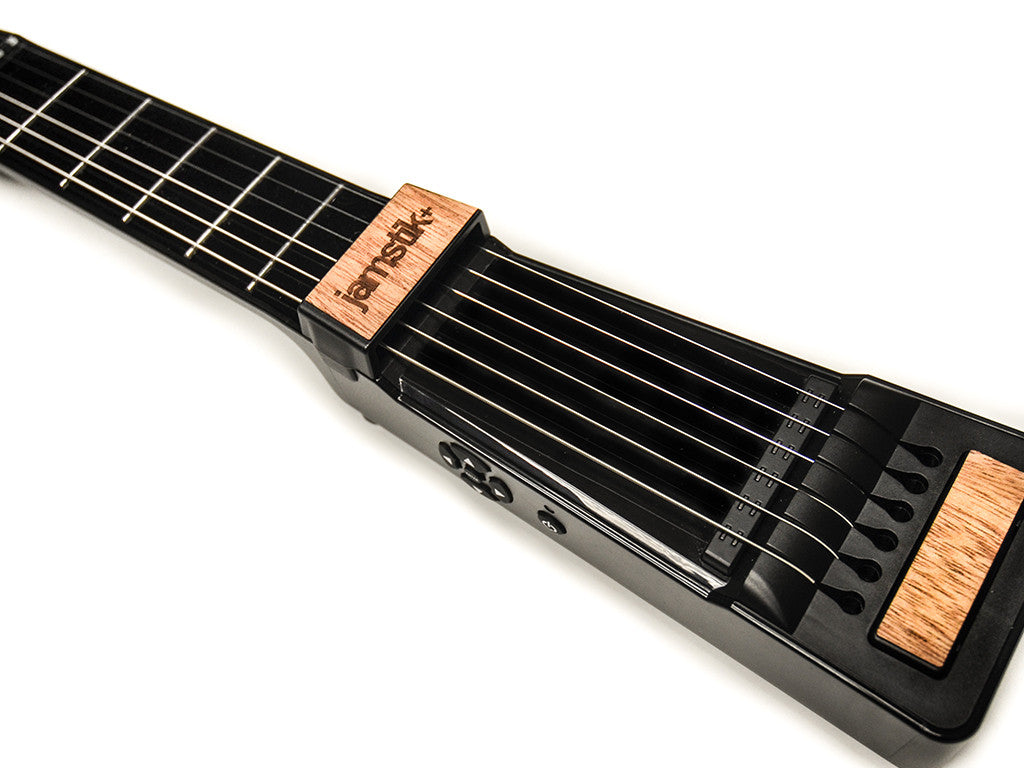 jamstik+ with mahogany wood onlay kit