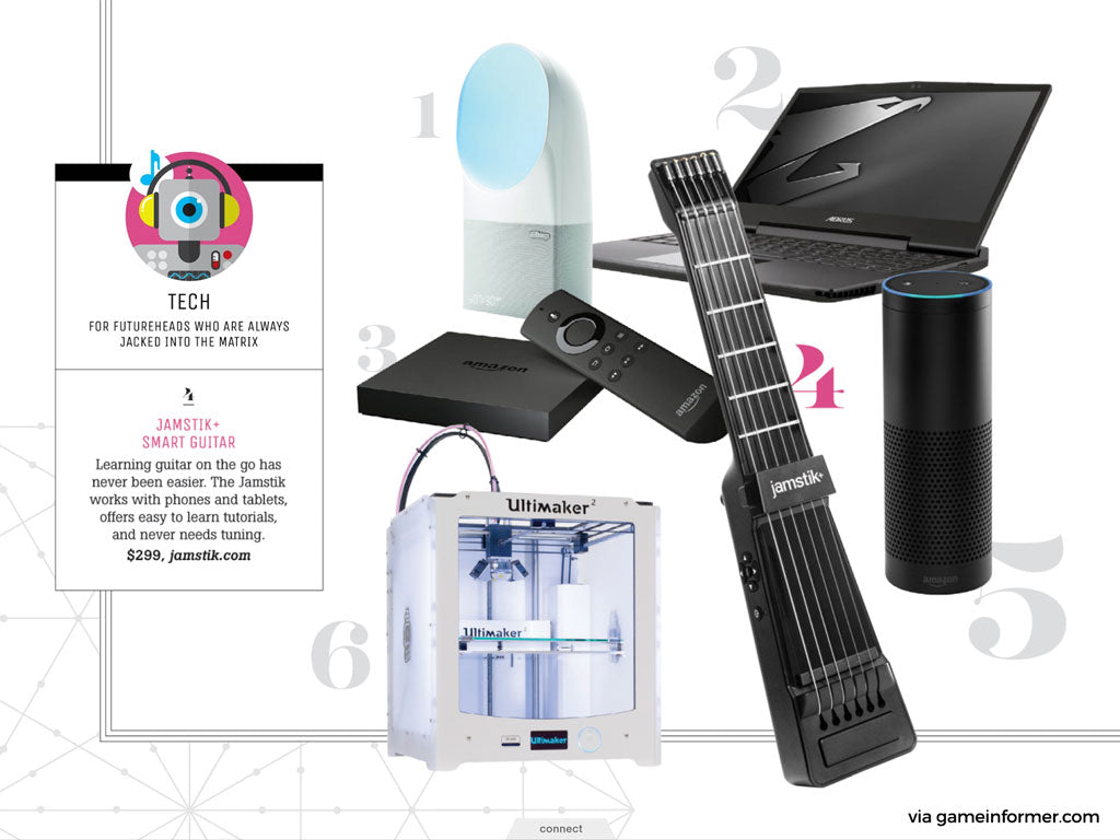 GameInformer - Top 5 Tech Gadgets 2015