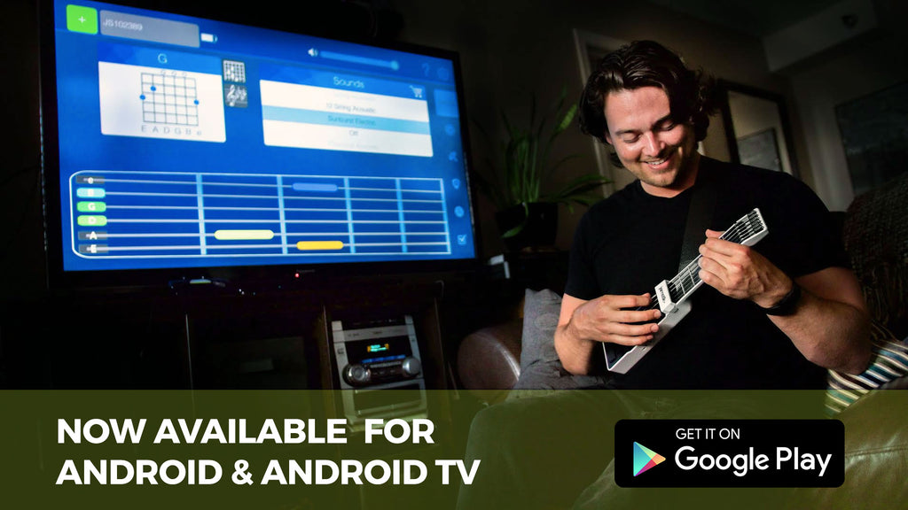 Jamstik+ Available on Android and Android TV