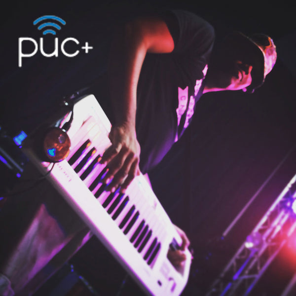Doug Wayne using the puc+ with Andy Grammer Band