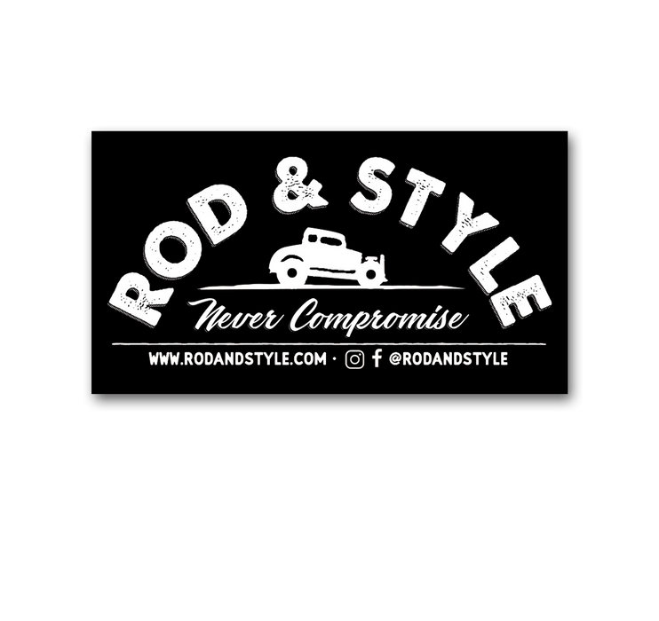 Rod and Style Coupe Sticker