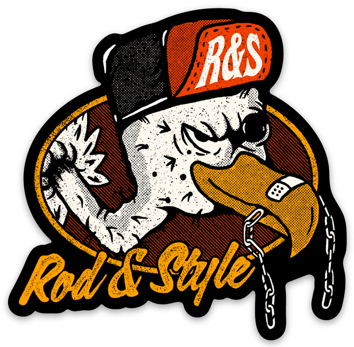 Rod and Style Vulture Sticker