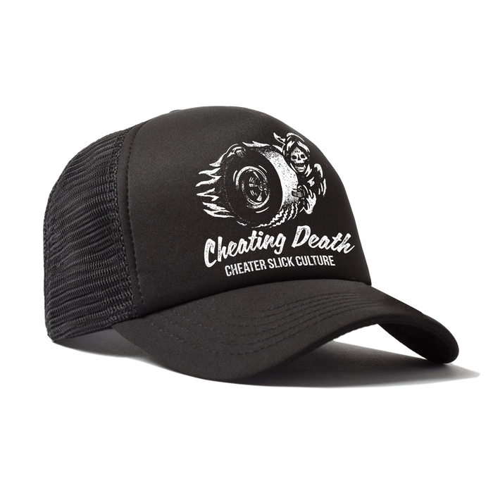 Cheating Death Trucker Hats -- Cheater Slick Culture