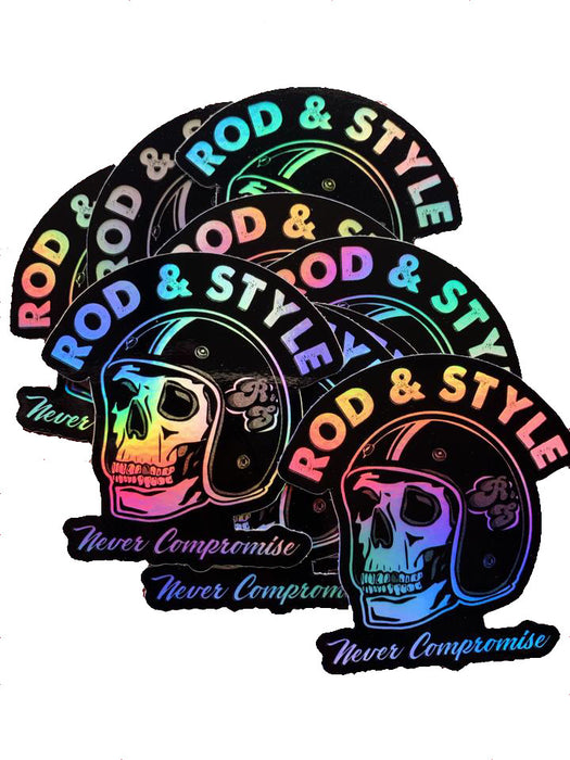 Rod and Style Holographic stickers