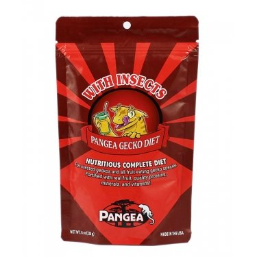 Pangea Fruit Mix™ With Insects Complete Gecko Diet - Jozi Bugs