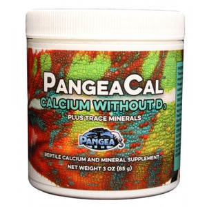 Pangea Calcium WITHOUT Vitamin D3 (85g) - Jozi Bugs