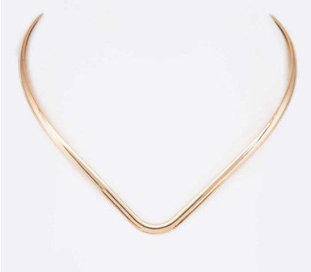Iconic Metal Collar Necklace