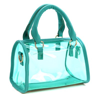 Mini Translucent Satchel