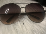 Unisex Mix Tone Aviator Sunglasses