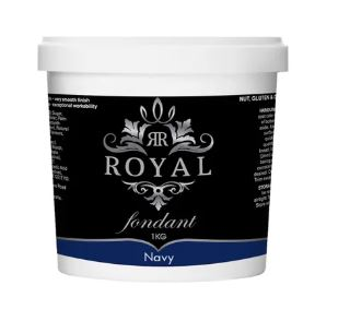 ROYAL NAVY BLUE FONDANT 1KG