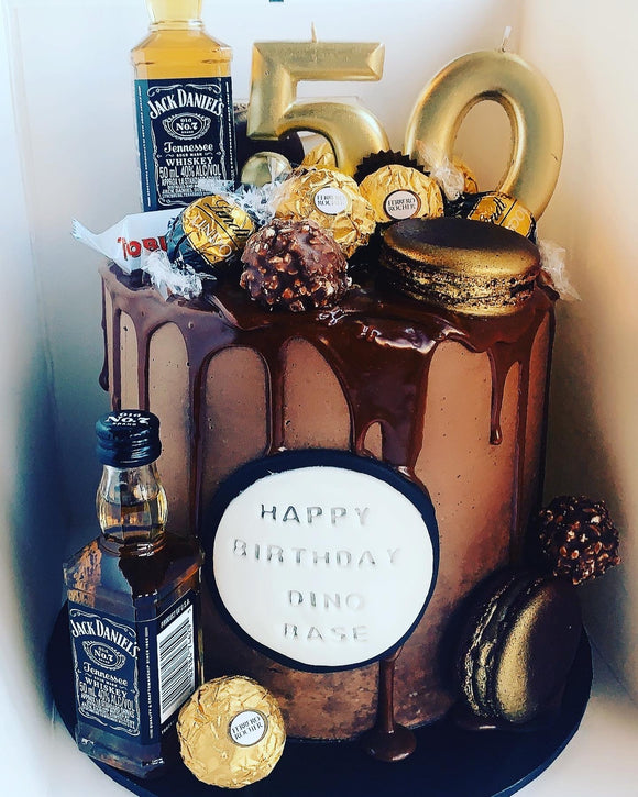 Chocoholic Drip Cakes