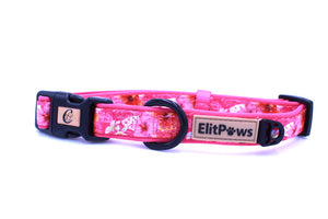 Pink Rosemallows Collar