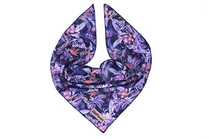 Tropical Black Cooling Bandana