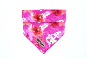 Pink Rosemallows Cooling Bandana