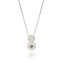 Load image into Gallery viewer, Sterling Silver & Diamond Amaye Pendant Necklace