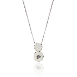 Sterling Silver & Diamond Amaye Pendant Necklace