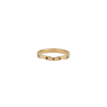 Load image into Gallery viewer, Diamond 14k Yellow Gold Wave Ring