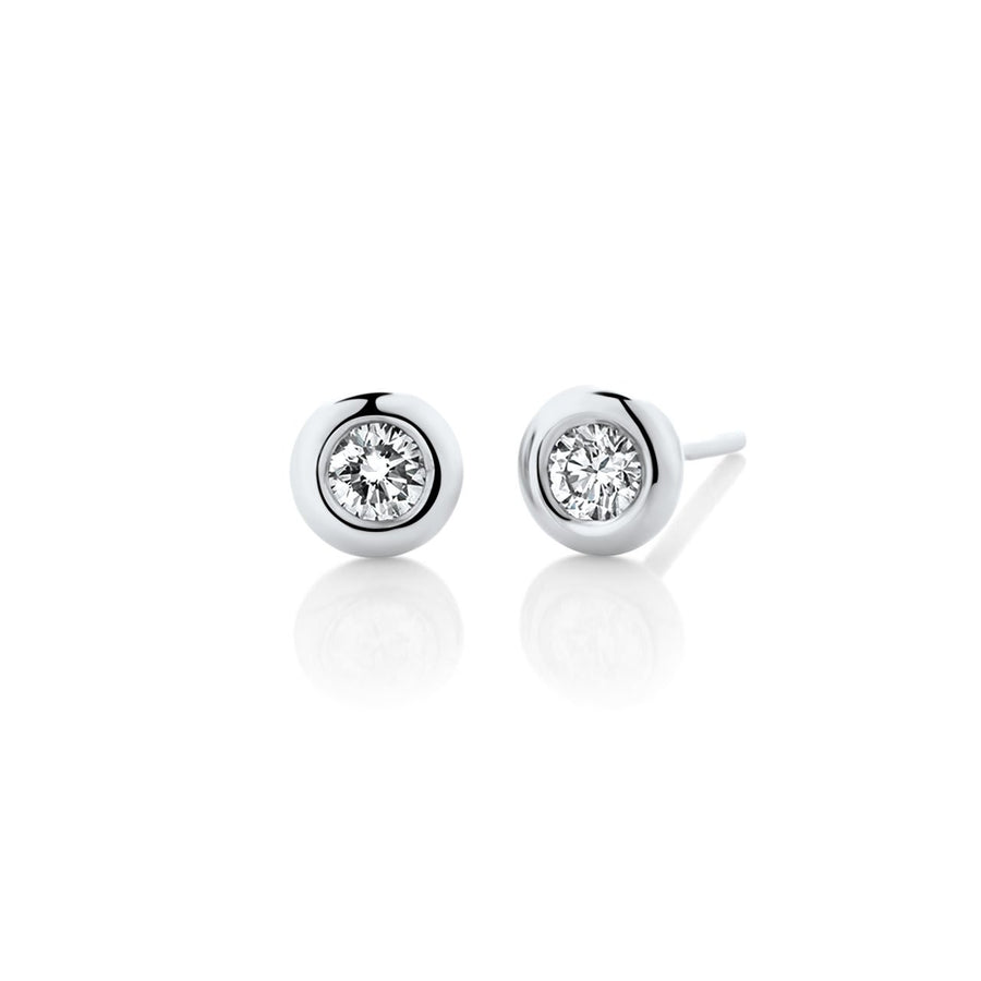 Luna Diamond Studs 0.20ct