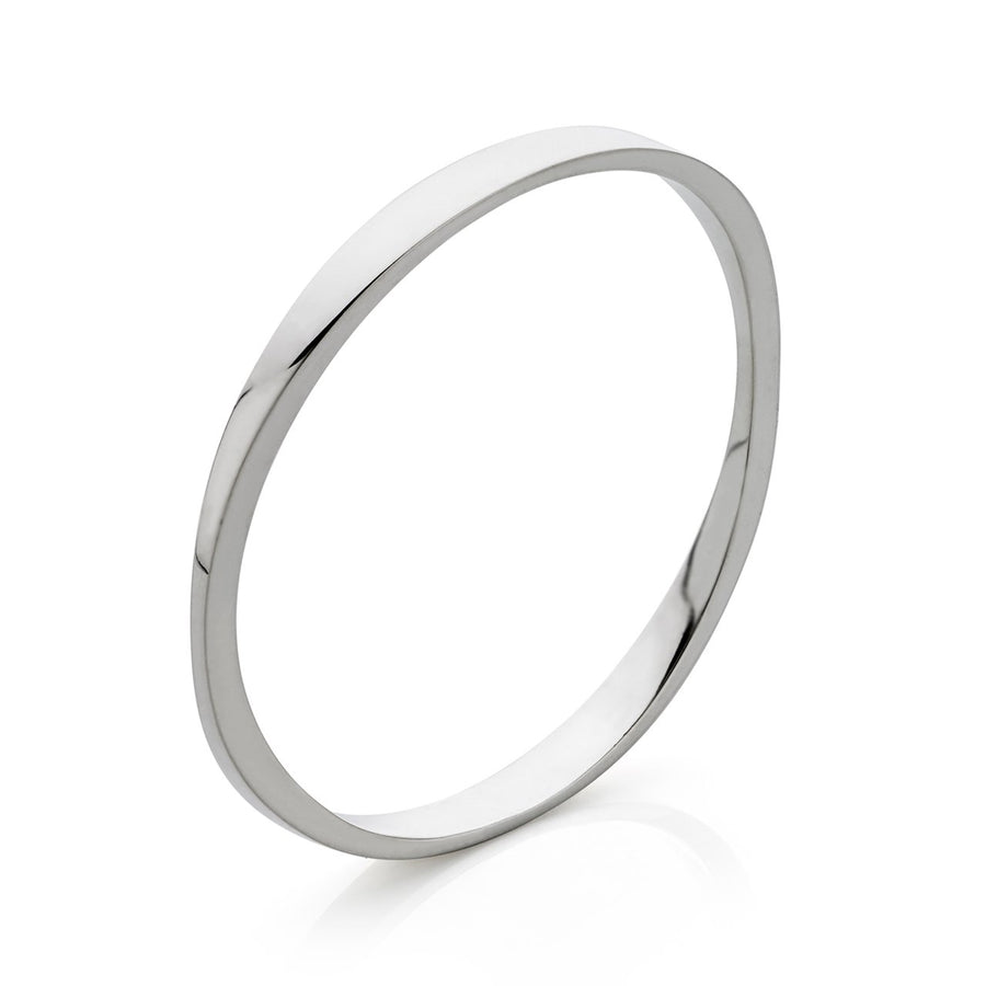 Oval Tapered Bangle