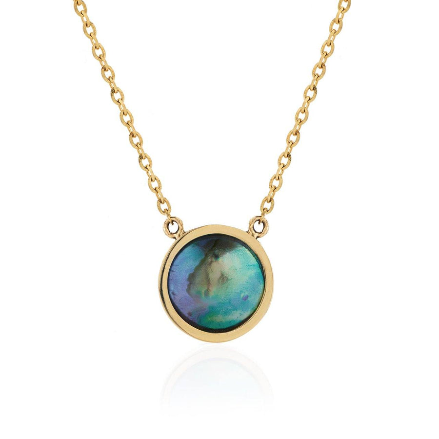 Paua Pearl Necklace