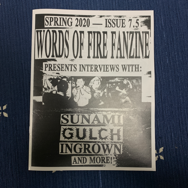 Words of Fire Fanzine #7.5