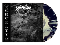 KRUELTY - A DYING TRUTH(LP) Special Bundle Pack