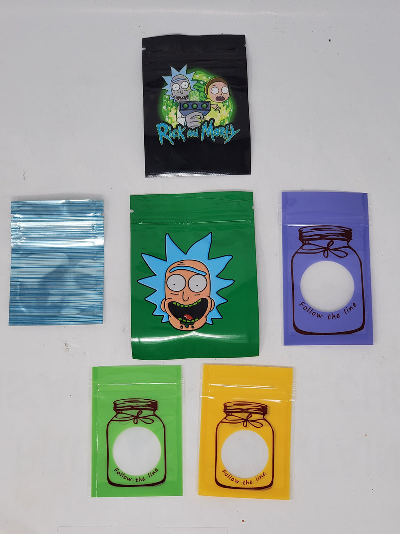 Smell Proof Small Bags (100ct) (Assorted Design)
