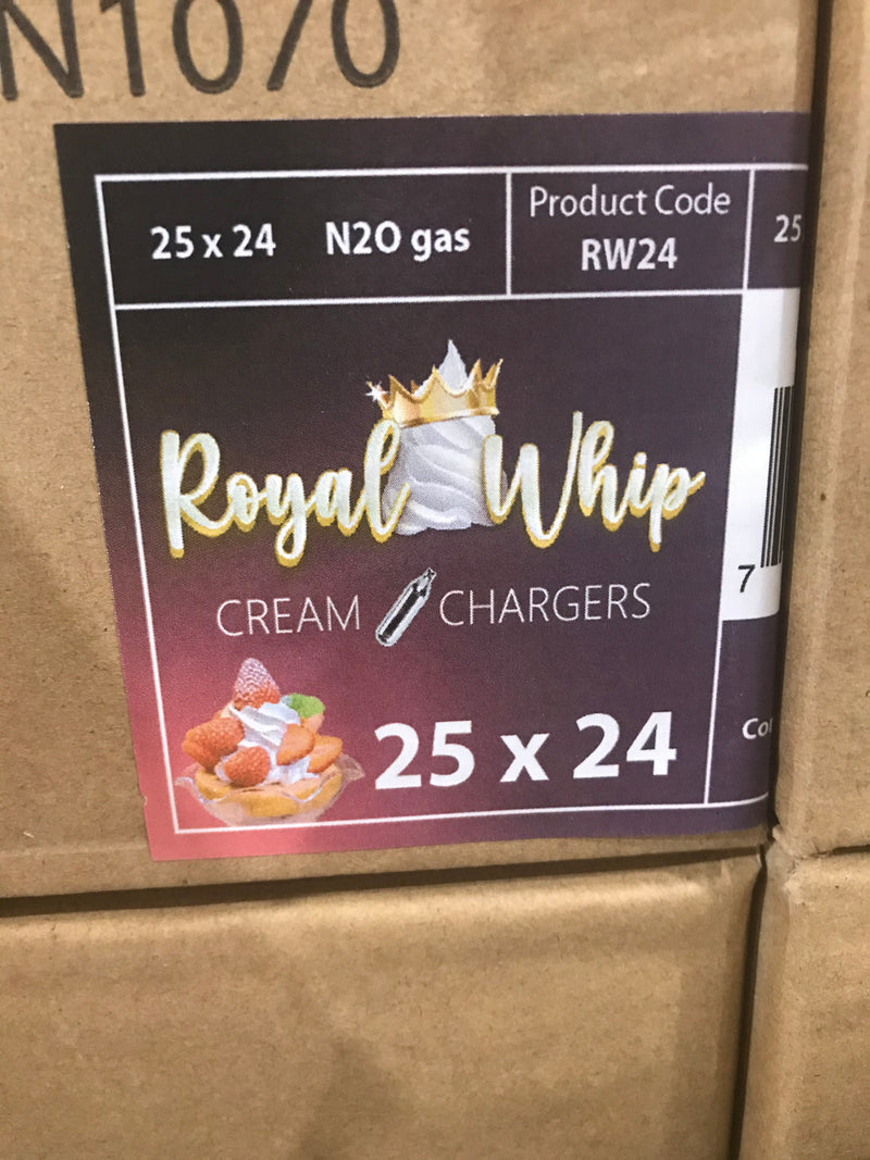 Royal Whip Cream Chargers