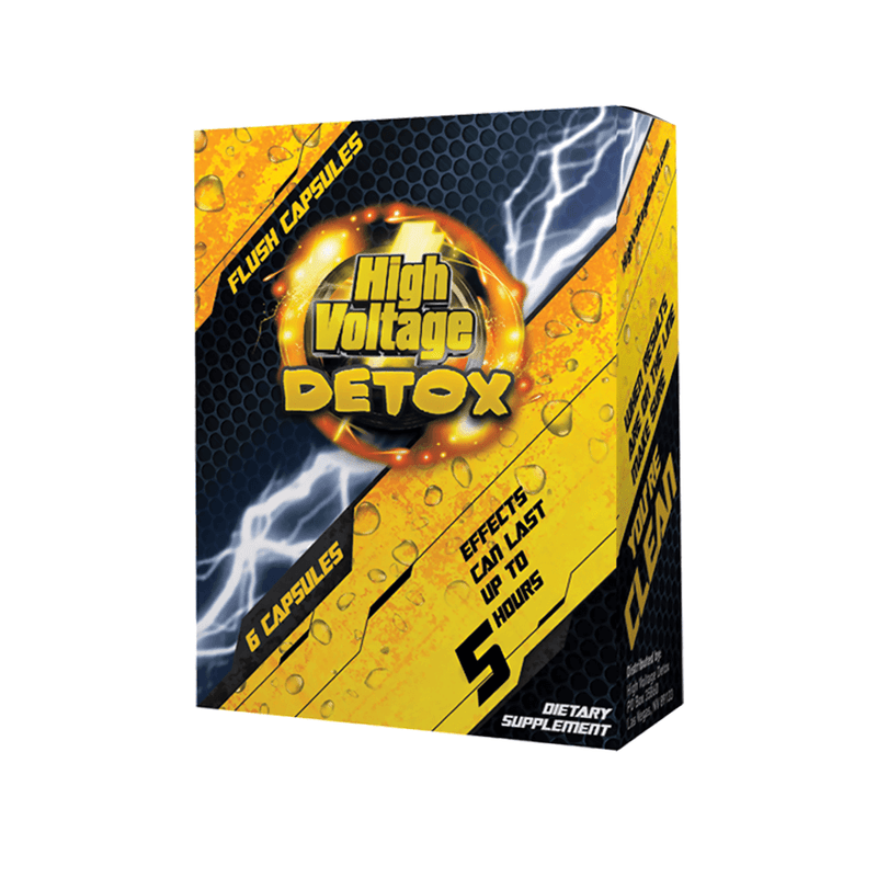 High Voltage Fast Flush Capsules (6ct/box)