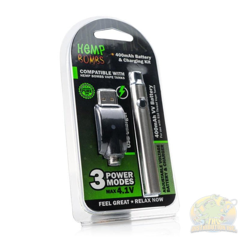 Hemp Bombs Battery & Charging Kit (6 count)