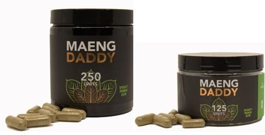 Maeng Daddy Capsules 250 unit