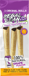 Legal Lean Cones Leaf All Natural Wrap Case OF 24CT