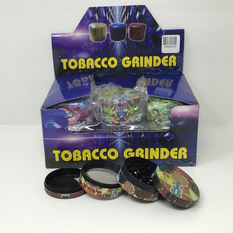 Metal Grinder Displays |12 ct