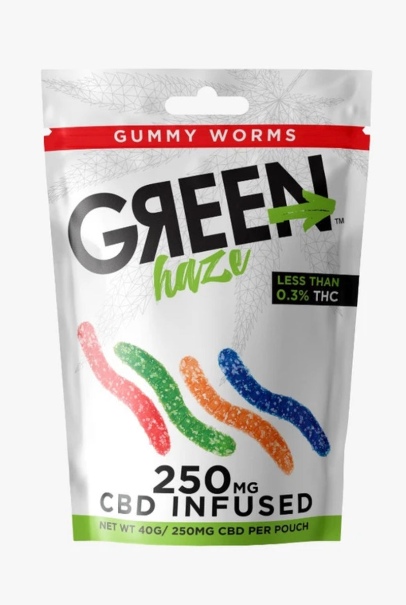 Green Haze CBD Gummies Infused - 250mg