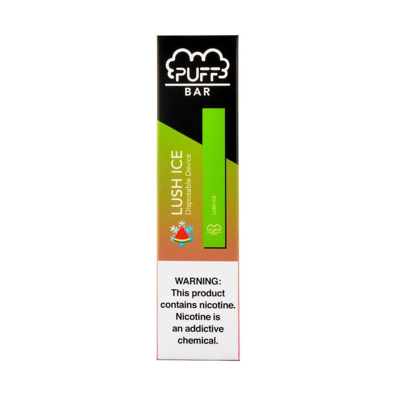 Puff Bar Disposable Device Box of 10 50 mg