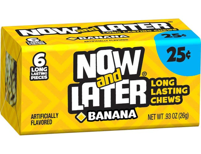 Now and Later Candy