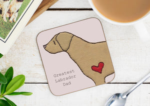 Labrador Greatest Dog Parent Coaster