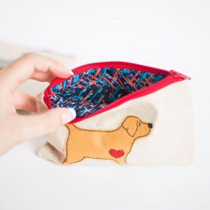 Cockapoo - Dog Embroidery - Small Useful Coin Purse
