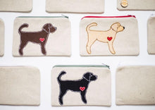 Load image into Gallery viewer, Labradoodle - Dog Embroidery - Small Useful Coin Purse