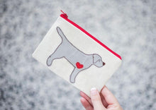 Load image into Gallery viewer, Labrador Retriever - Dog Embroidery - Small Useful Coin Purse