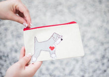 Load image into Gallery viewer, Schnauzer - Dog Embroidery - Small Useful Coin Purse