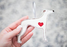 Load image into Gallery viewer, Whippet - Dog Embroidery - Small Useful Coin Purse