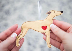 Whippet - Dog Embroidery - Small Useful Coin Purse