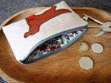 Load image into Gallery viewer, Irish Red Setter - Dog Embroidery - Small Useful Coin Purse