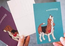 Load image into Gallery viewer, Beagle Postcards - Singles