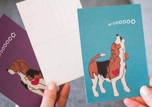 Beagle Postcards - Singles