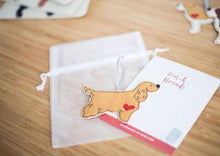 Load image into Gallery viewer, Show Cocker Spaniel - Fabric Dog Decoration