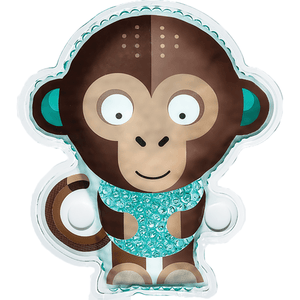 BodyICE Kids Milo the Monkey – ICE OR HEAT PACK TO SOOTHE KNOCKS AND BRUISES